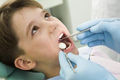 санации полости рта детям